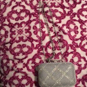 Accessories - Silver evening purse